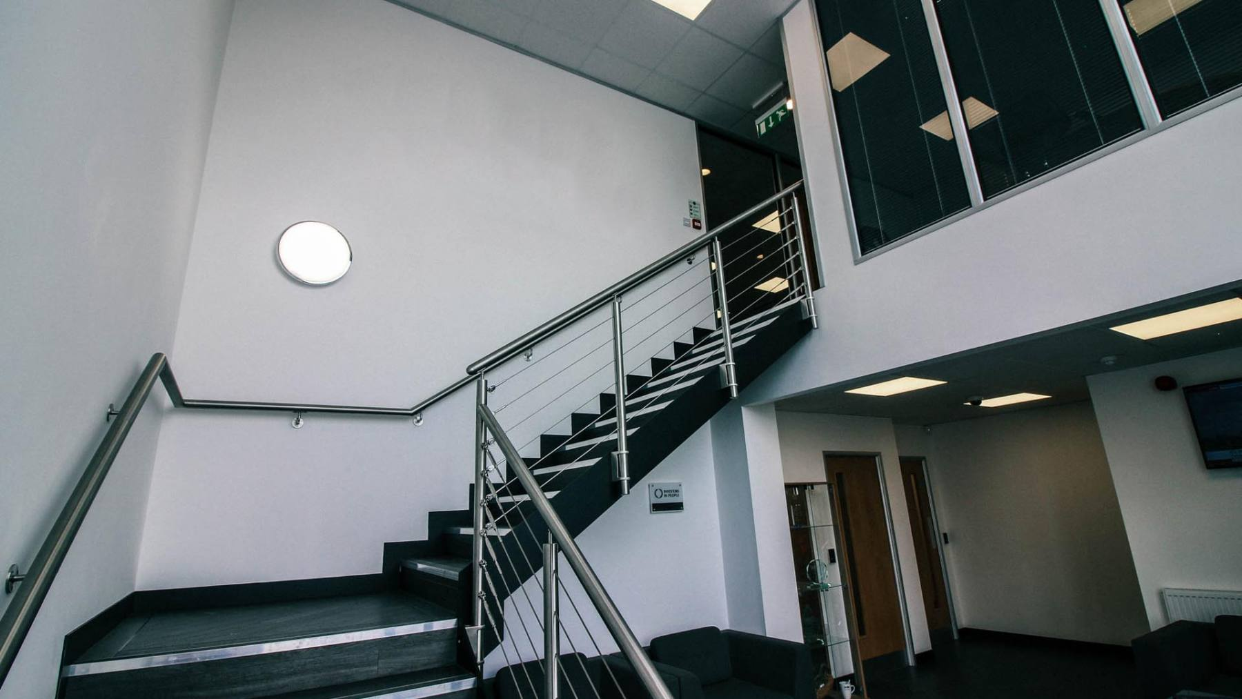 Mezzanine Floors Services : Our services premiere refurbishments office